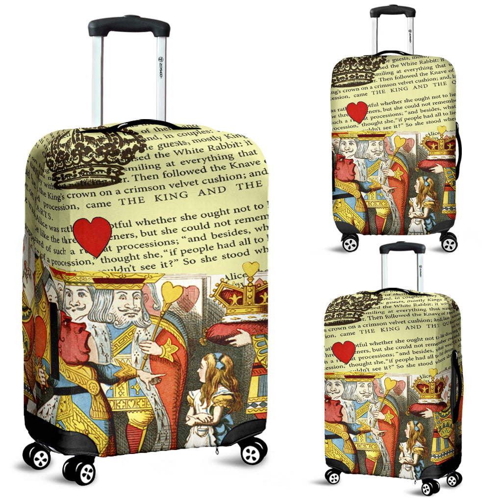 The King And The Queen Luggage Cover - STUDIO 11 COUTURE