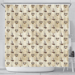 Steampunk 2 Shower Curtain - STUDIO 11 COUTURE