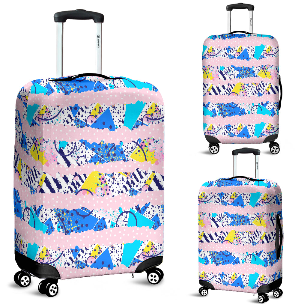 80s Fashion Girl Luggage Cover - STUDIO 11 COUTURE