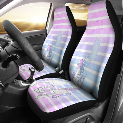 Unicorn Loves You Car Seat Covers