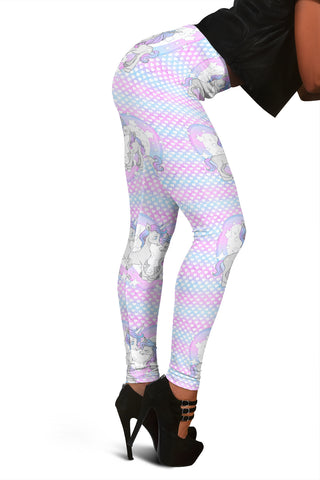 Women Leggings Sexy Printed Fitness Fashion Gym Dance Workout Unicorn Theme M12