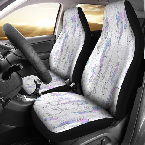 Unicorn Fantasy Car Seat Covers