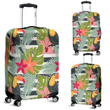 Tropical Tucan Bird 1 Luggage Cover - STUDIO 11 COUTURE