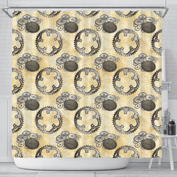 Steampunk 5 Shower Curtain - STUDIO 11 COUTURE