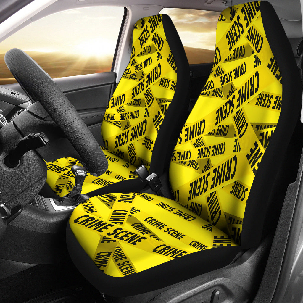 Police Car Seat Covers