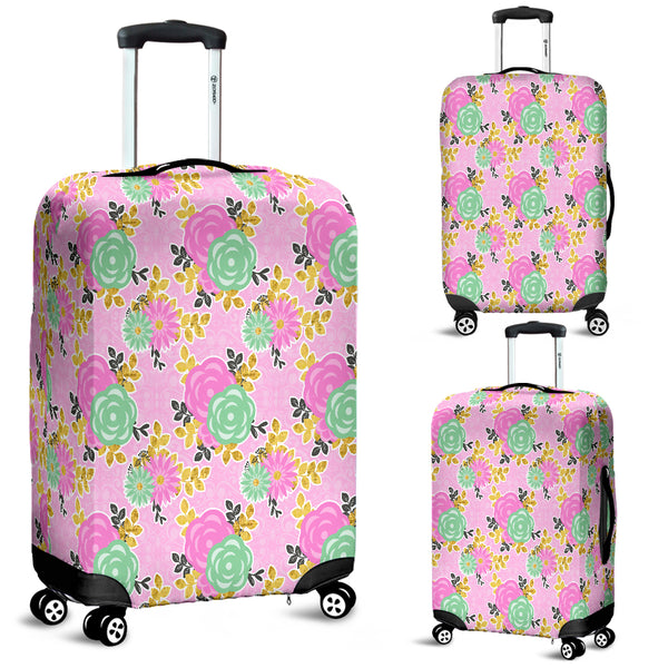 Floral Spring 9 Luggage Cover