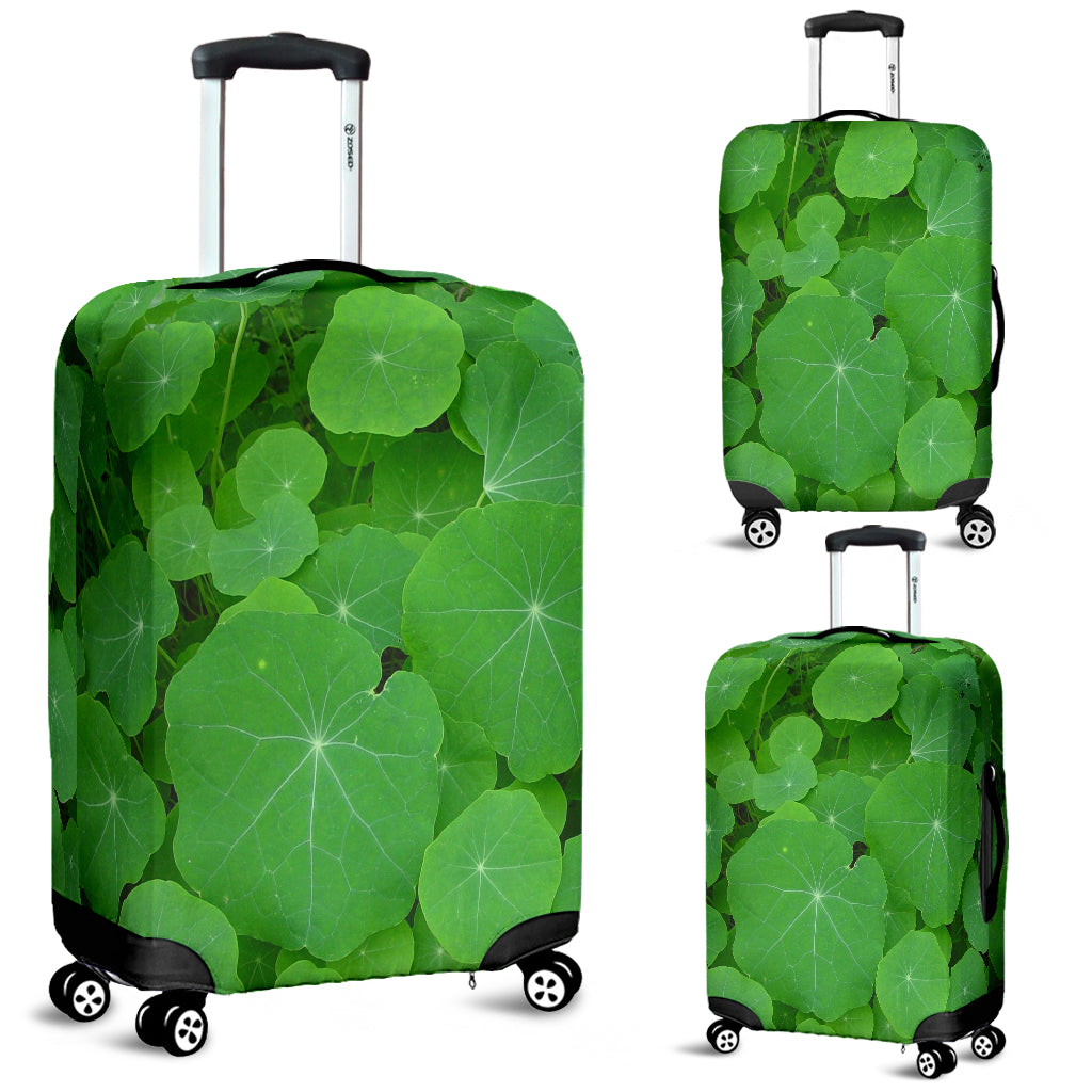 Water Lilies Luggage Cover - STUDIO 11 COUTURE