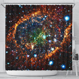 Galaxy Shower Curtain - STUDIO 11 COUTURE