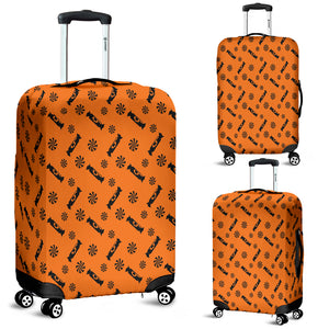 Black Candy Spooky Halloween Luggage Cover