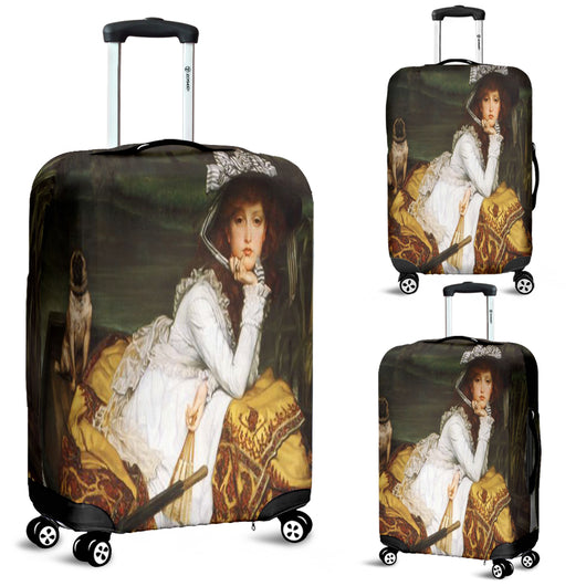 James Tissot Young Lady In A Boat Luggage Cover