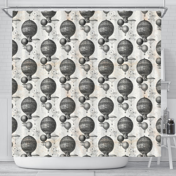 Steampunk 4 Shower Curtain - STUDIO 11 COUTURE