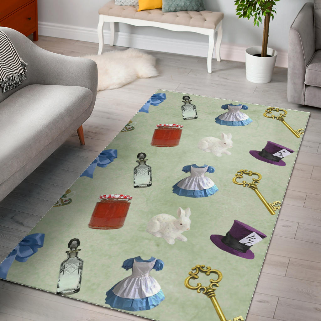 Floor Rug Alice In Wonderland 2-03