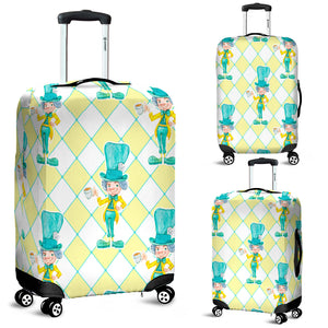 The Mad Hatter Alice In Wonderland Luggage Cover