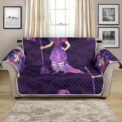 54'' Futon Sofa Protector Premium Polyster Fabric Custom Design Witch 11