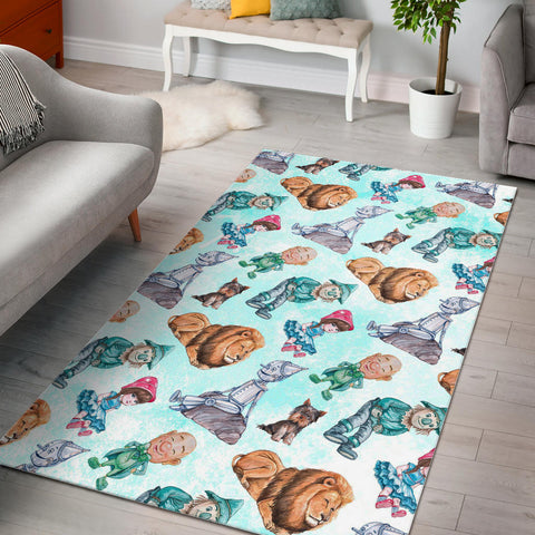 Floor Rug Wizard Of Oz 1-11