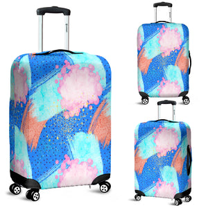 80s Fashion Girl 9 Luggage Cover - STUDIO 11 COUTURE