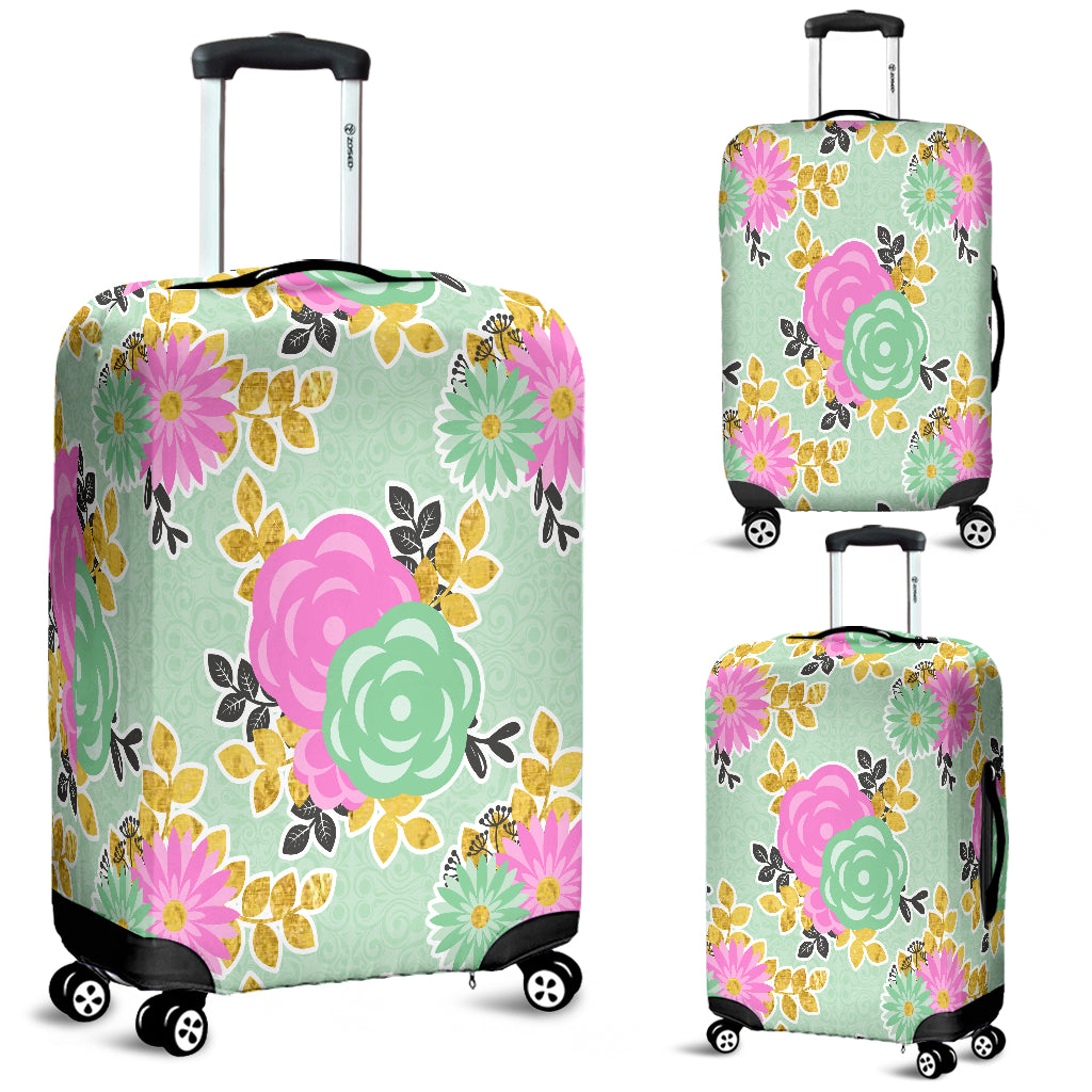 Floral Spring 8 Luggage Cover
