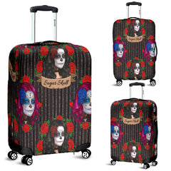 Sugar Skull Gothic Lolita Luggage Cover