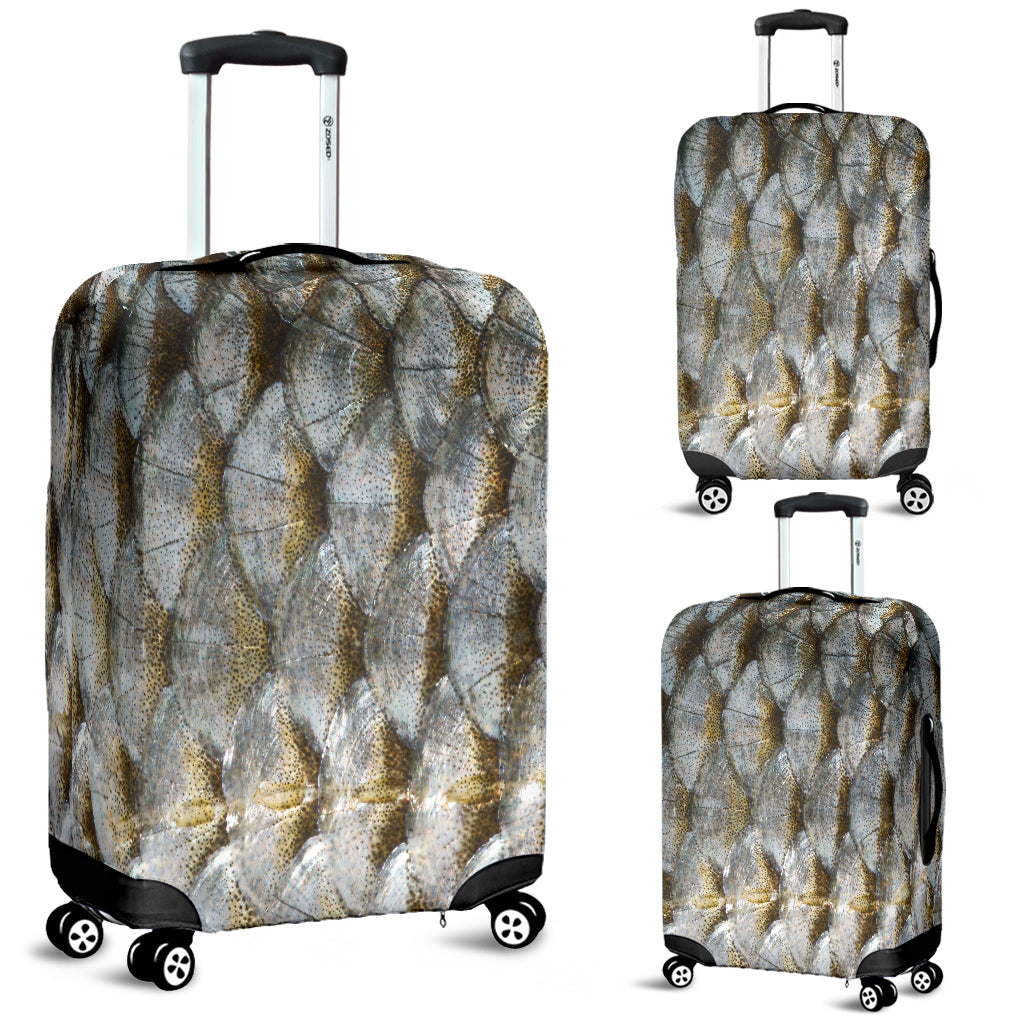 Fish Scale Luggage Cover