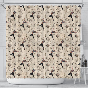 Steampunk 6 Shower Curtain - STUDIO 11 COUTURE