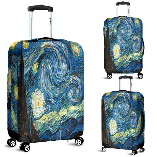 Vincent Van Gogh Starry Night Luggage Cover - STUDIO 11 COUTURE