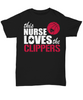 Image of Women and Men Tee Shirt T-Shirt Hoodie Sweatshirt This Burse Loves The Clippers