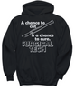 Image of Women and Men Tee Shirt T-Shirt Hoodie Sweatshirt A Chance To Cut Is A Chance To Cure Surgical Tech