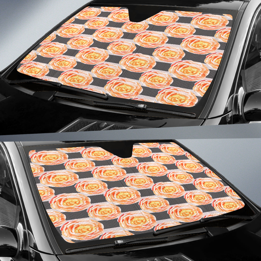 Astonishing Floral Spring Auto Sun Shades