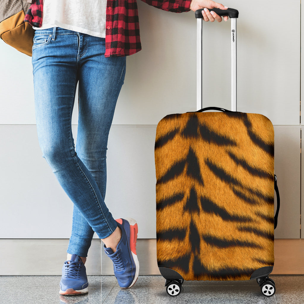 Tiger Skin Luggage Cover - STUDIO 11 COUTURE
