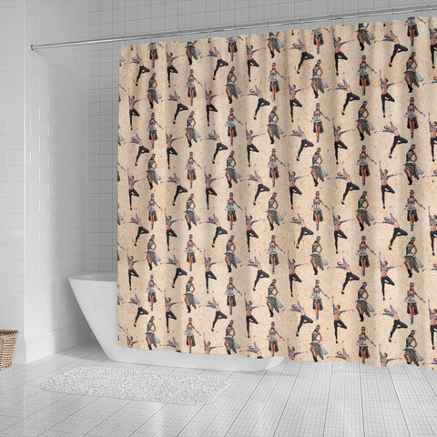 Steampunk 8 Shower Curtain - STUDIO 11 COUTURE