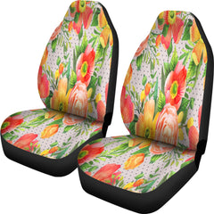Beautiful Floral Spring Car Seat Covers