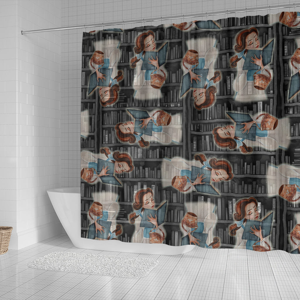 Beauty And The Beast Bell Shower Curtain