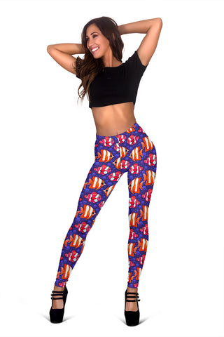 Women Leggings Sexy Printed Fitness Fashion Gym Dance Workout Mermaid Theme J05