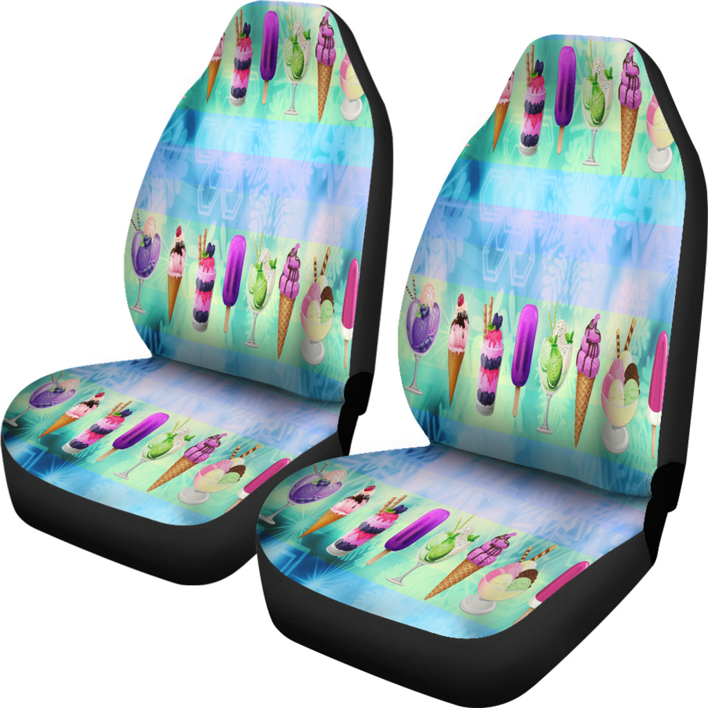 Ice Cream Car Seat Covers
