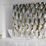 Fish Scale Shower Curtain