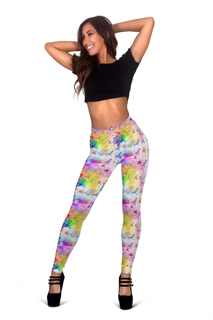 Women Leggings Sexy Printed Fitness Fashion Gym Dance Workout Spring Theme G12