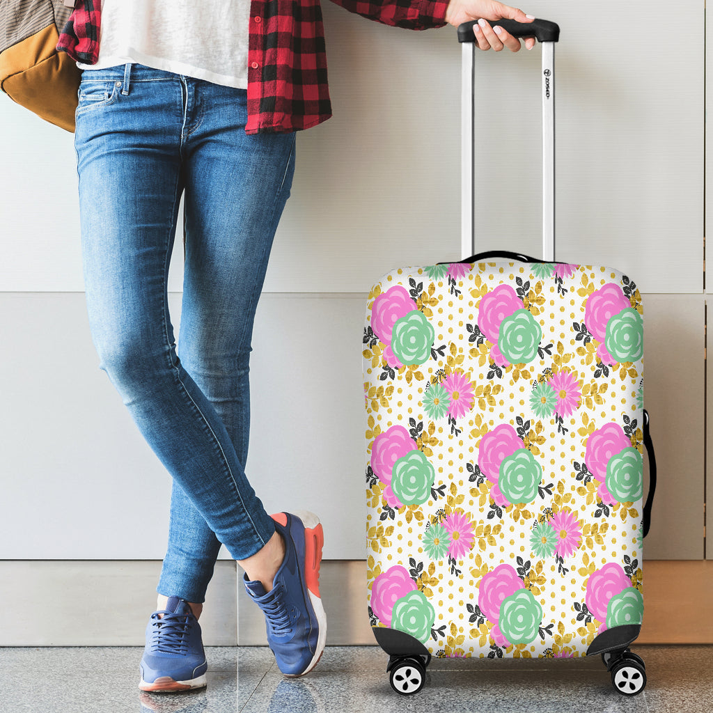 Floral Spring 10 Luggage Cover