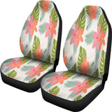 Tropical Jasmin Flower Car Seat Covers