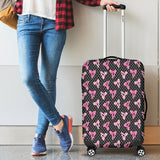 Black Bows Luggage Cover