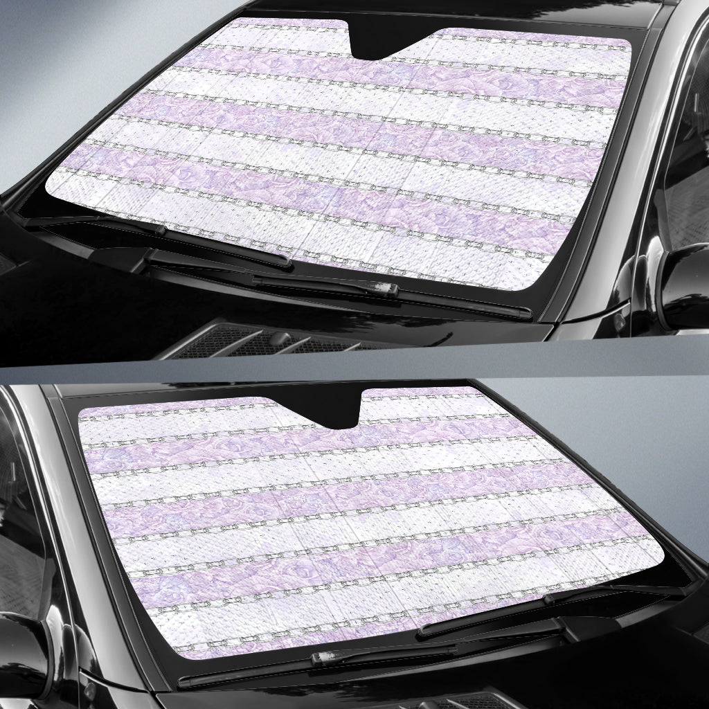 Lady Butterfly Auto Sun Shades