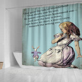 The Tale Of Wonderland Shower Curtain - STUDIO 11 COUTURE