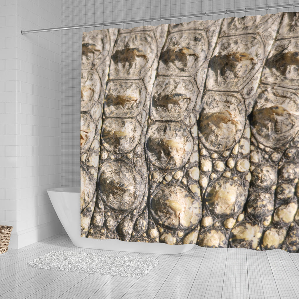 Alligator Skin Shower Curtain