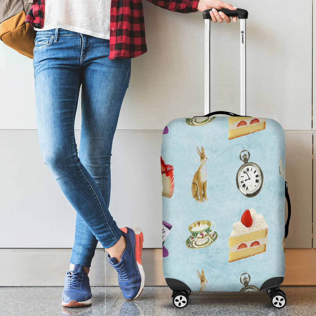 Alice in Wonderland 3 Luggage Cover - STUDIO 11 COUTURE