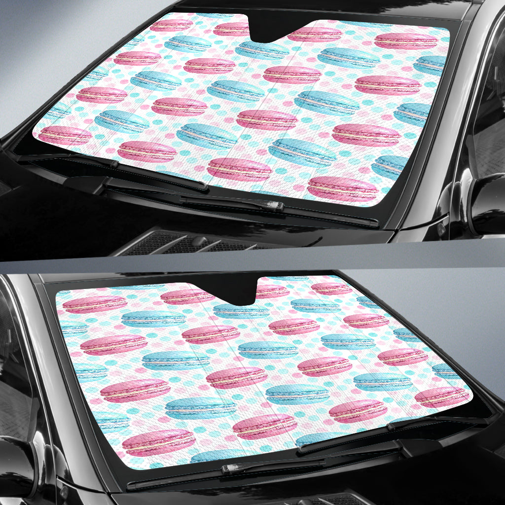 Baking French Macarons Auto Sun Shades