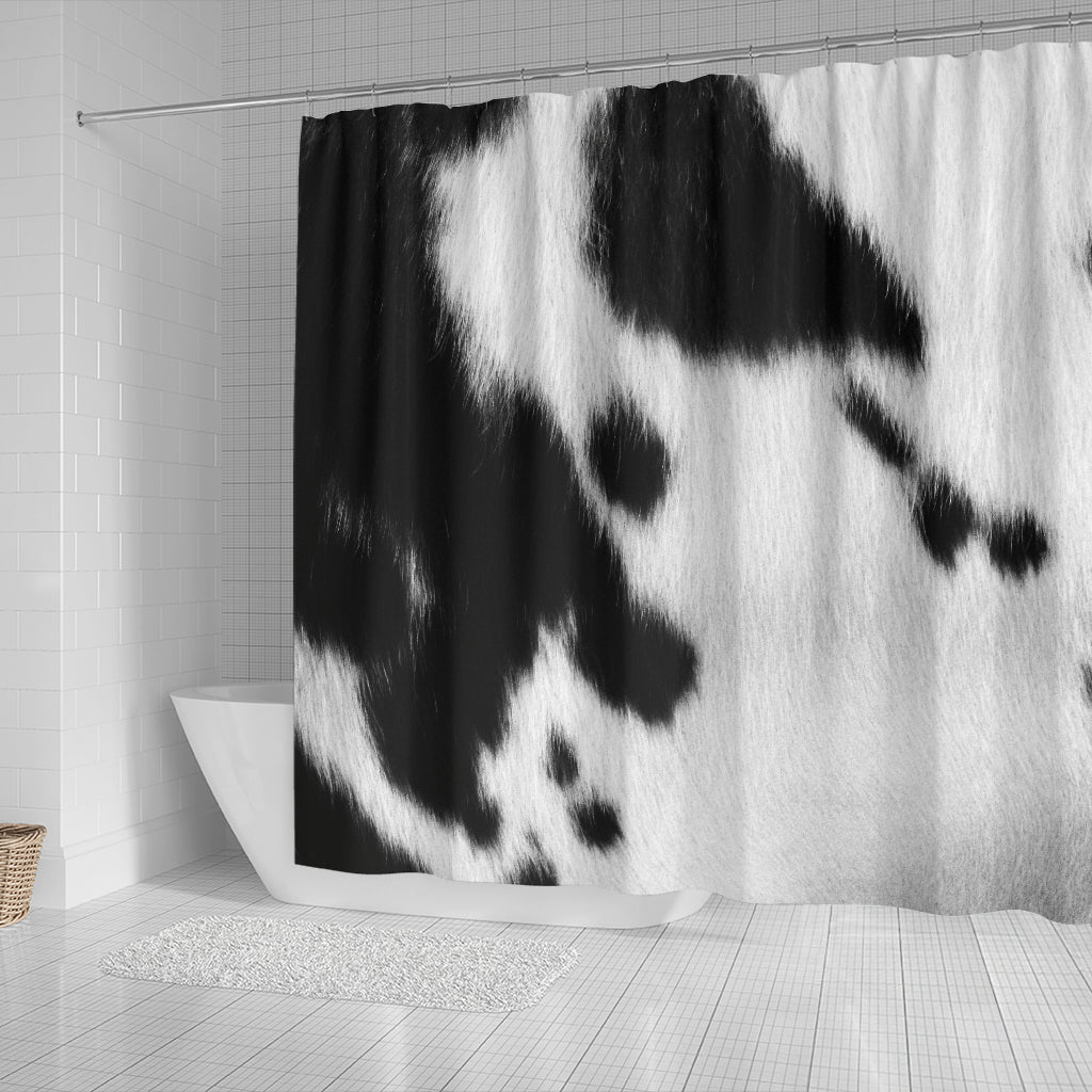 Cow Skin Shower Curtain - STUDIO 11 COUTURE