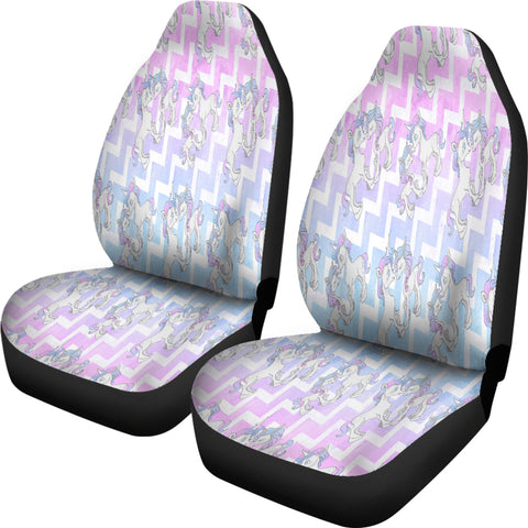 Unicorn Pastel Car Seat Covers