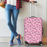 Pink Rose Luggage Cover - STUDIO 11 COUTURE