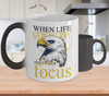 Image of Color Changing Mug Animals When Life Gets Blurry Adjust Your Focus