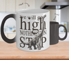 Image of Color Changing Mug Animals We Will Go High Nothing Can Stop