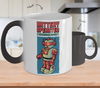 Image of Color Changing Mug Retro 80s 90s Nostalgic Vintage80_s Robot